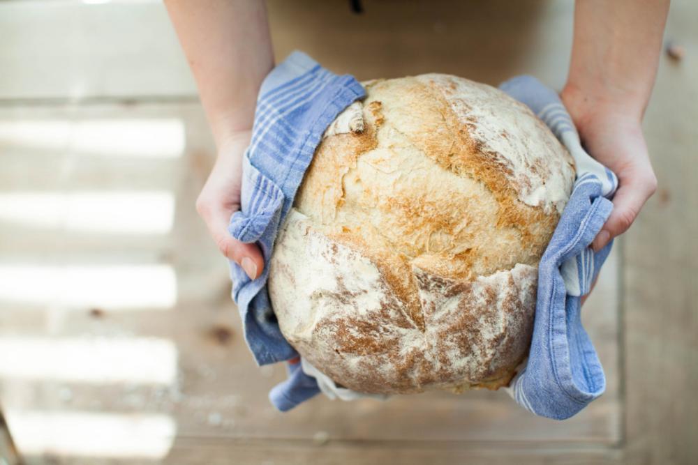 hacer pan casero con panificadora